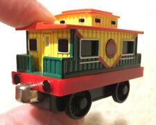 Rare Thomas Friends Musical Caboose Diecast Toy Train Carriage Green Red Variant