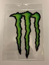 Adesivo 3D Resinato Monster Energy 11 X 16