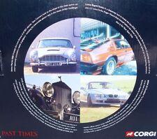 Corgi Toys 1:36 THE DEFINITIVE JAMES BOND 007 FILM CANISTER 4 CAR SET #54621 MIB