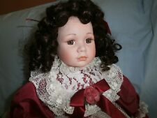 Claudia Porcelain Doll Kingstate 25 Inches