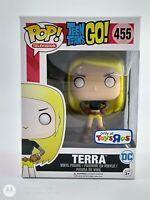 FUNKO POP! TELEVISION: TEEN TITANS GO - TERRA TOYS R US EXC. #455 *UK STOCK*