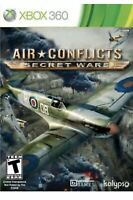 Air Conflicts Secret missions Xbox 360 Game Collectible Air-force Pilots WWII