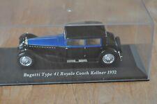 miniature Bugatti Type 41 Royale Coach Kellner collection