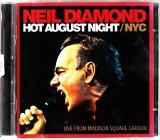 NEIL DIAMOND: Hot August Night NYC 2-CD -Live From Madison Square Garden