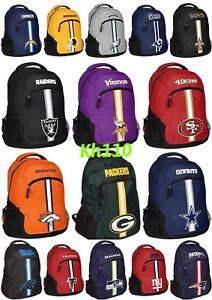 NFL ,MLB Team Action Backpack (school,Work,Travel)