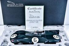 Jaguar D Type 1955 Lemans Winner 1/12 by Autoart