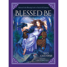 Blessed Be Cards NEW (2018) Celtic Blessing Oracles 46 Card Deck and Booklet