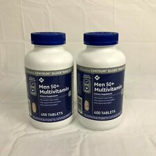 Men 50+ Multivitamin / Silver Dietary Supplement 400 Tablets / 2 Pack / 02/2022