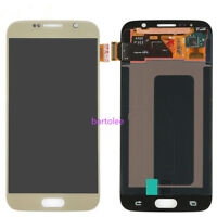 For Samsung Galaxy S6 G920F LCD Display Screen Gold Touch Digitizer Replacement