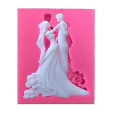 Silicone Couple Molds Chocolate Cake Mold Decor Fondant Mould Cookie Baking Tool