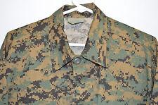 Woodland Digital Camouflage BDU Shirt Rothco Ultra Force Men's Large Regular