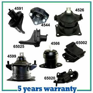 For 04-06 Acura TL 3.2L For Engine Motor & Trans. Mount Full Kit Set 8PCS Auto.