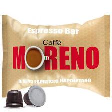 100 CAPSULE CAFFE' MORENO MISCELA ESPRESSO BAR NESPRESSO