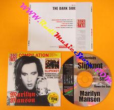 CD Rockstar Compilation Vol.13 The Dark Side MARILYN MANSON slipknot PROMO (C26)