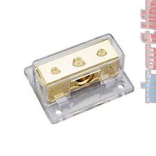 Sinus Live VB1-2 Masse-Verteilerblock Verteiler - 50mm² Stromkabel 24k vergoldet
