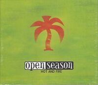 OPEN SEASON - HOT AND FIRE - (brand new still sealed cd ) - MEGA 022