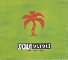 OPEN SEASON - HOT AND FIRE - (brand new still sealed cd ) - MEGA 022