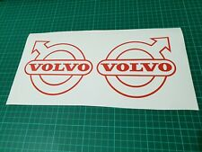 Volvo truck decals x 2 logo graphic stickers ANY COLOUR!!!