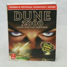 Dune 2000 Long Live the Fighters Prima Official Game Guide Book