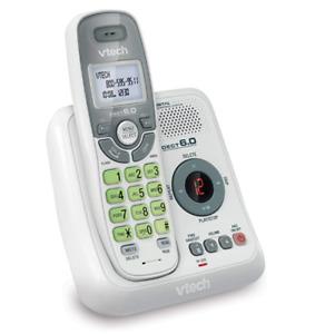 Cordless Telephone Answering Machine System Caller ID Handset Landline Phone New