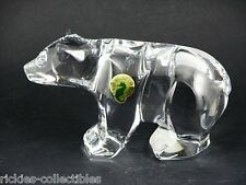 Waterford Crystal Large Bear Figure - Brand New in the Box