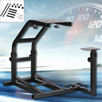 Racing Simulator Steering Wheel Black Stand for G27 G29 PS4 G920 T300RS 458 T80