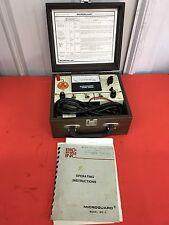 Microguard Model MG-3 Gauge With Case Bio Design Inc