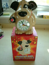 Mutley barking mad dog novelty alarm clock 2018 Easter Birthday Event Gift