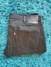 Levis 510 Black Slim Denim Jeans W38 L32