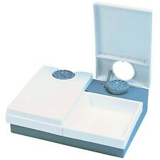 Cat Mate C20 Automatic Pet Feeder for Cats and Small Dogs White 2 Meal x 450 g