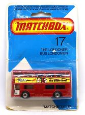 The Londoner The Bisto Bus Matchbox #17 Die-cast Model Toy Collectable