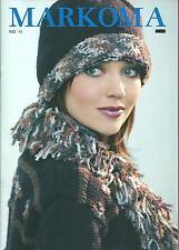 Catalogue tricot MARKOMA n° 11/Années 80/Automne/25 modèles exclusifs
