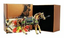 JAY STRONGWATER JEWEL ABBEY HORSE FIGURINE SWAROVSKI NEW ORIGINAL BOX