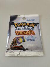 Pokemon Stickers Series 1 (1999) OVP 10 sticker per Pack / RISINGTIME