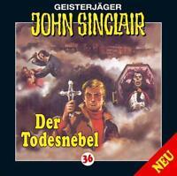 "Preisalarm! * HÖRSPIEL CD * JOHN SINCLAIR ""Der Todesnebel"" 36 * NEU/OVP"