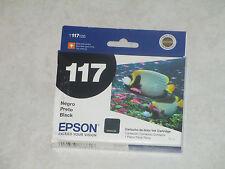 Genuine Epson T117 Black Ink Cartrdge T117120 Stylus T23,TX115 etc. Exp:2013