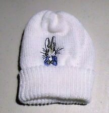Peter Rabbit Knitted Baby Beanie Hat (New) 0-3 months