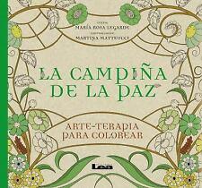 Arte Terapia: La Campiña de la Paz : Arte - Terapia para Colorear by Maria...