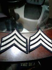 PAIR WW2 ERA US ARMY SERGEANT CHEVRONS