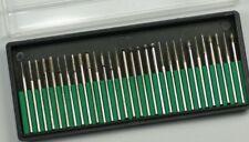 30 set Diamond Burrs tools fits dremel or rotary engraving Bits micro small