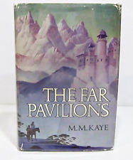 THE FAR PAVILIONS by M.M. KAYE HCDJ - FIRST EDITION / FIRST PRINTING