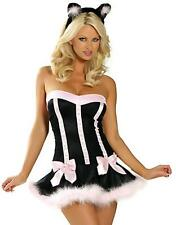 Halloween SEXY NAUGHTY Easter Bunny CAT COSTUME OUTFIT PARTY DRESS FANCY TUTU