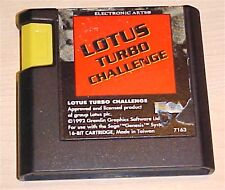 Lotus Turbo Challenge racing Sega Genesis original retro classic game cartridge