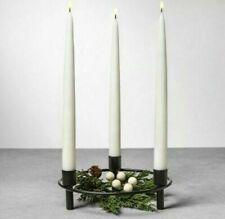 Hearth & Hand Magnolia Black Circular Candle Holder Centerpiece Candelabra NWT