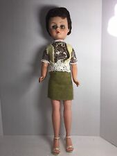 """Tall 24"""" Doll Vintage Movable Arms Legs Closing Eyes 050116"""
