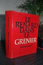 RICHARD HUGHES - THE FOX DANS LE GRENIER NOVEL - BOOK EDITION NUMBERED TBE