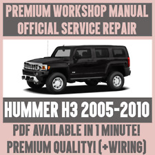 >WORKSHOP MANUAL SERVICE & REPAIR GUIDE for HUMMER H3 2005-2010 +WIRING