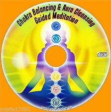 GUIDED MEDITATION CHAKRA BALANCING & AURA CLEANSING CD NEW ALTERNATIVE HEALTH