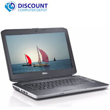 Dell Latitude Windows 10 Laptop Notebook PC i5-2nd Gen 4GB DVD WIFI HDMI