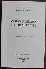 MAILLET JEANNECheveau-legers d'une histoireBarre & Dayez, 1994, in 8, br., 46
